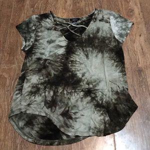 Green Ty Die T-Shirt
